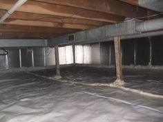 Energy Saver By LeafGuard NE WI   Spray Foam Insulation Photo Set   Crawl  Space Air Sealing, Encapsulation U0026 Insulation Installation In Green Bay, WI