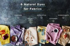 The Art of Natural Dyeing + 6 Colors to Start With   Food52   Bloglovin'
