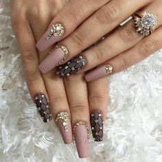 Dark Color Nail Designs for Women - Pretty nails - Dark Color Nails, Dark Nails, Hot Nails, Nail Colors, Fabulous Nails, Perfect Nails, Gorgeous Nails, Pretty Nails, Glam Nails