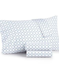 Charter Club Damask Designs 500 Thread Count Printed Wrinkle-Resistant Sheet Sets, Only at Macy's  $39.99 Give your classic bedding a boost of style and comfort with these Damask Designs 500 thread count printed sheet sets from Charter Club, featuring soft pima cotton fabric and a wrinkle-resistant design. Combine patterns to create your own unique look.
