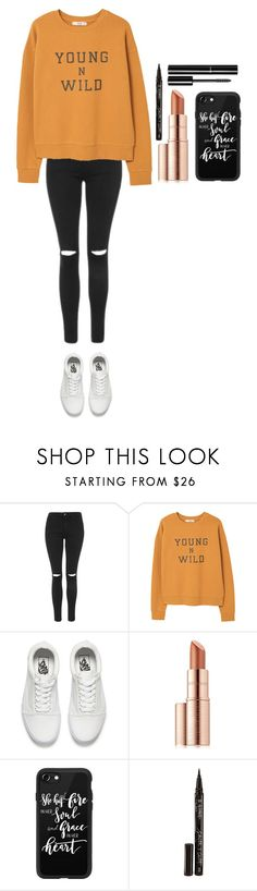 """""""Untitled #413"""" by dutchfashionlover ❤ liked on Polyvore featuring Topshop, MANGO, Vans, Estée Lauder, Casetify, Smith & Cult, Chanel and casual"""
