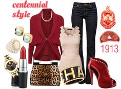 """""""DST Centennial Style"""" by shendriethbrown on Polyvore"""