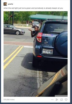 When the hand said it all: | 24 Pictures That Make Way Too Much Sense If You Drive