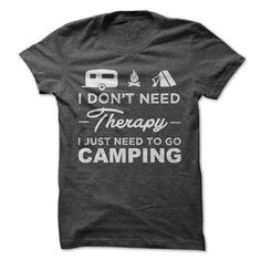 awesome CAMPING Tshirt - Team CAMPING Lifetime Member