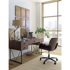 Hughes Office Chair | Crate and Barrel