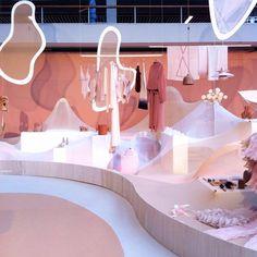 "MODEFABRIEK AMSTERDAM, Rai, Amsterdam, The Netherlands, ""Pretty in Pink"",  for Nude vs Naked, pinned by Ton van der Veer"