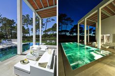 #Modern pool provides nice views and perfect night comfort