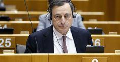 Taux. Entendu par le Parlement européen, Mario Draghi, président de la BCE, a dû expliquer pourquoi son institution avait coupé l'un de ses robinets de liquidités aux banques grecques