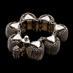 Silver Bracelet. Rajasthan. India. Circa Mid 20th Century