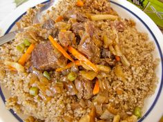 Ceebu Yapp - beef or lamb variation, of the Senegalese dish - Daniela Yayefall Fall - Ceebu Yapp - beef or lamb variation, of the Senegalese dish Ceebu Yapp - beef or lamb variation, of the Senegalese dish - Lamb Recipes, Healthy Chicken Recipes, Senegalese Recipe, West African Food, Nigerian Food, Good Foods To Eat, Soul Food, Food Dishes, Easy Meals