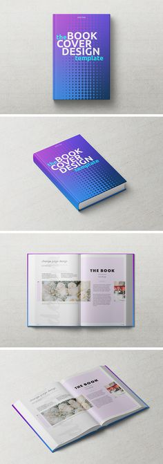A free psd book mockup template for realistic printed book - booklet template free download