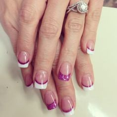 If you're thinking about getting your nails done for a special occasion, it's important to know how to choose nail tips that you're going to like. You wouldn't want your nail tips to be too long if you're the kind of person who isn't used to. Solar Nail Designs, Toe Nail Designs, Nails Design, French Nails, Cute Nails, Pretty Nails, French Tip Nail Designs, Solar Nails, Gel Nagel Design