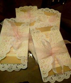 Great craft, make inexpensive wedding invitations.
