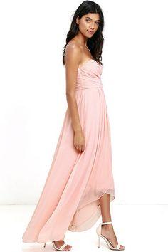 Peach Dresses | Lace, Maxi, Prom, and Peach Bridesmaid Dresses