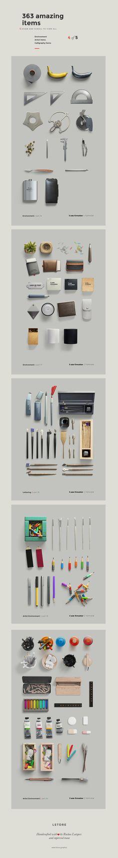 I am Creator — Scene Generator by LStore on Creative Market Scene Creator, The Creator, Cosmetics Mockup, Photoshop, Layout, Mockup Templates, Brochure Template, Header Image, Top View