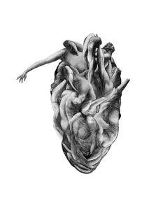 Lifeblood, 2013  Romantic Spirit: Captivating Visual Art by Ville Andersson | Yatzer