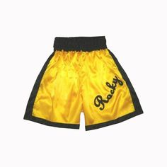 Interested to buy Rocky Balboa Gold Custom Made Boxing Shorts ? Come and Visit http://laroojersey.com/boxing/Rocky-Balboa-Gold-Custom-Made-Boxing-Shorts