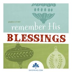 A Time For Joy - Blessings - http://www.dayspring.com/ecardstudio/#!/single/358