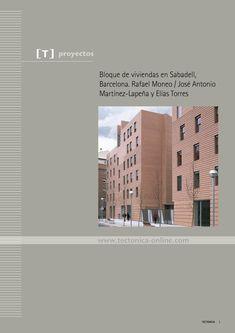 bloque de viviendas en sabadell barcelona rafael moneo jos antonio