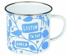 Home: Eleven Tea-Worthy eBay Mugs (Rob Ryan Enamel Mug | eBay)