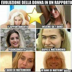 Evoluzione della donna in un rapporto