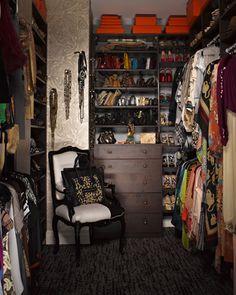 Modern Home Decor, celebrity closets, Christina Aguilera's shoe closet, Ellen DeGeneres' shoe closet, fantastic closet ideas, home design ideas, Kim Kardashian's closet, luxurious closets, Mariah Carey's closet, Ralph Lauren's closet