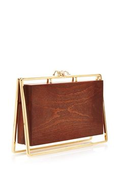 Stand Up Pandora Clutch by Charlotte Olympia for Preorder on Moda Operandi