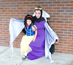 Evil Queen and Snow white Family costume