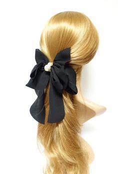 cute braid hairstyles On The Side Sleek Hairstyles, Diy Hairstyles, Military Hairstyles, Hair Barrettes, Hair Bows, Scrunchies, American Girl Hairstyles, Ribbon Hairstyle, Steampunk Hairstyles