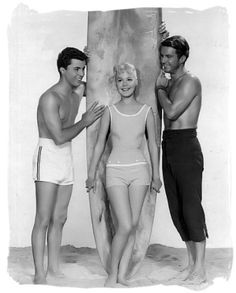 L.A. Movies: Gidget - Sandra Dee with James Darren and Cliff Robertson