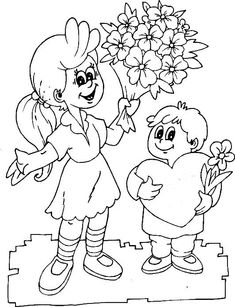 My coloring of two kids love mom Pencil Art Drawings, Animal Drawings, Mom Coloring Pages, Online Coloring, Mom Day, Love Mom, Drawing For Kids, Have Some Fun, Happy Mothers Day