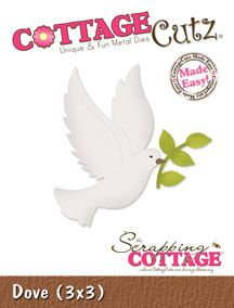 Cottage Cutz Dove Die If you would like to know more about the item, about availability or costs please email me at bmaxwell@xtra.co.nz