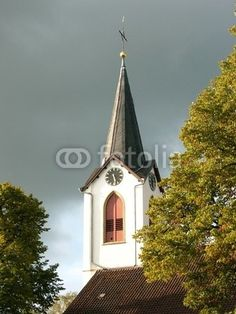 schneewei e fassade der kirche in leopoldsh he bei. Black Bedroom Furniture Sets. Home Design Ideas