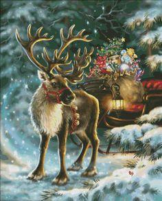 The Enchanted Christmas Reindeer