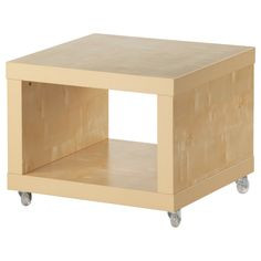 Bedside table from STACKED LACK