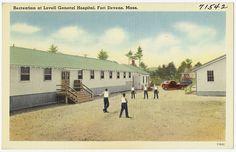 Recreation at Lovell General Hospital, Fort Devens, Mass., via Flickr.