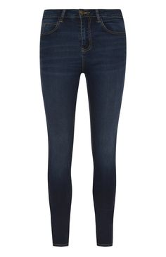 Primark - Mid Blue Power Stretch Skinny Jeans