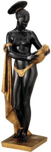 24.5 Classic 19th century French Antique Replica Nude Ebony Water Maiden Scu...  Price : 107.95 http://www.xoticbrands.net/Classic-century-French-Antique-Replica/dp/B004V09GMI