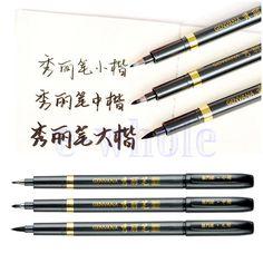 Kalligraphiestifte Kalligraphie Stift Marker Kalligraphiemarker Chinesisch GE