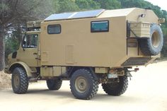 Unimog 435 U1300L Ambulance Camper Conversion