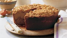 When winter hangs on past its welcome, the only solution is to bake it away. This homey spiced coffee cake is good for dessert and even better at breakfast or teatime -- especially when offered while it's still warm from the oven.