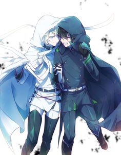 Mikaela (Mika) andYuuichirou (Yuu) ♡ MikaYuu / YuuMika   Owari no Seraph #Anime ☆by さくらい on pixiv