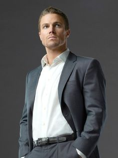 Stephen Amell (Pinned from list of Ten of the Most Beautiful Men on TV--click to see the full list :))