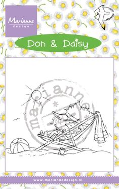 Dds3352 Don & Daisy - Holiday app - Hetty Meeuwsen - Clear stamps - Hobbynu.nl
