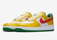 """3581b7e9f81 HYPES ARE US. Nike feiert Karneval im Sommer mit dem Air Force 1 """"Carnival""""  Pack!"""
