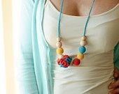 Necklace/Teething necklace