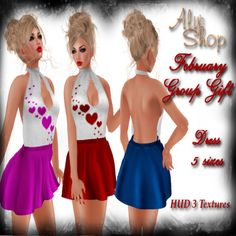 THIRD LIFE [Frees, Gifts & Hunts]: ALY´S SHOP - FEMALE DRESS