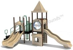 Noahs Park and Playgrounds - Shattuck Play Structure, $6,990.00 (http://www.noahsplay.com/playground-equipment-needs/church/shattuck-play-structure/)