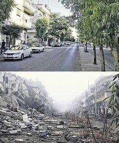 #syrien vorher & nachher - wo würdest DU leben wollen?