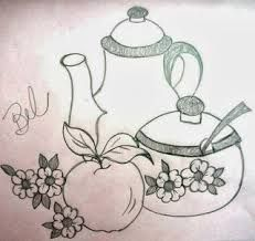 Tea for two Hand Embroidery Patterns, Punch Needle Patterns, Embroidery Stitches, Cross Stitch Patterns, Embroidery Designs, Coloring Books, Coloring Pages, Aluminum Foil Art, Outline Drawings